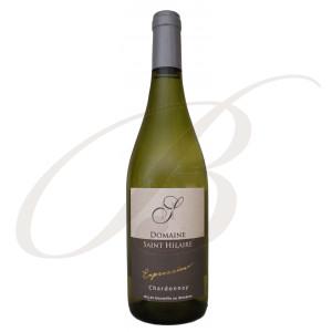 Chardonnay, Expression, Domaine Sainte-Hilaire, Vin de Pays d'Oc, 2018 - Vin Blanc