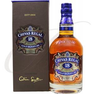 Chivas Regal, 18 ans, Blended Scotch Whisky