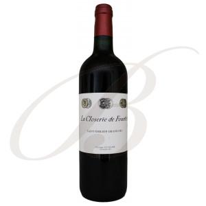 Closerie de Fourtet, 2ème vin de Clos Fourtet, Grand Cru Classé Saint-Emilion (Bordeaux), 2016 - Vin Rouge