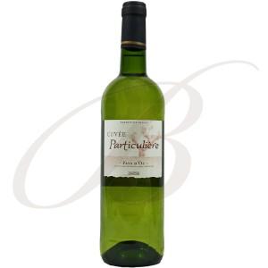 Cuvée Particulière, Blanc de Blancs, Vin de Pays d'Oc, 2013 - white wine