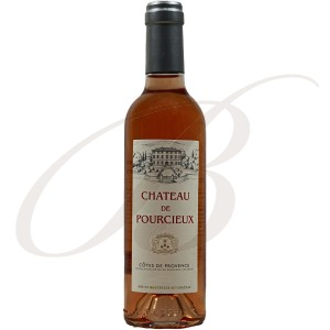 Château de Pourcieux, Côtes de Provence, 2013   Demi-bouteille:  37,5cl - rosé wine