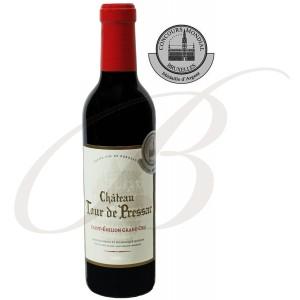 Demi-Bouteille Château Tour de Pressac, Grand Cru Saint-Emilion (Bordeaux), 2012 - Vin Rouge