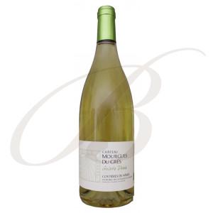 Galets Dorés, Château Mourgues du Grès (Costières de Nîmes), 2019 BIO - Vin Blanc
