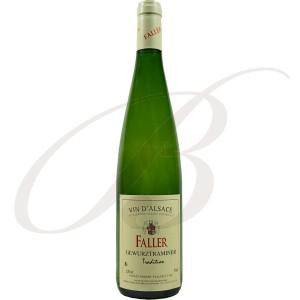 Gewürztraminer, Tradition, Robert Faller et Fils (Alsace), 2015 - Vin Blanc