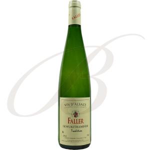 Gewürztraminer, Tradition, Robert Faller et Fils (Alsace), 2018 - Vin Blanc