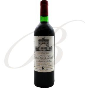 Château Léoville du Marquis de Las Cases, 2ème Cru Saint-Julien (Bordeaux), 1983 - vin rouge