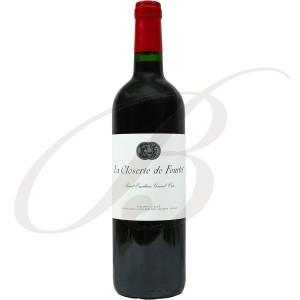Closerie de Fourtet, 2ème vin de Clos Fourtet, Grand Cru Classé Saint-Emilion (Bordeaux), 2012 - Vin Rouge