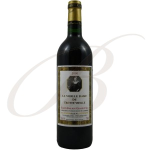 La Vieille Dame de Trottevieille, Grand Cru Saint-Emilion (Bordeaux), 2000 - red wine
