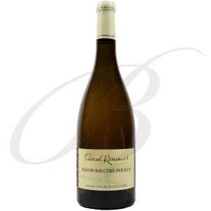 Mâcon-Solutré-Pouilly, Domaine Pascal et Mireille Renaud (Bourgogne), 2015 - Vin Vlanc