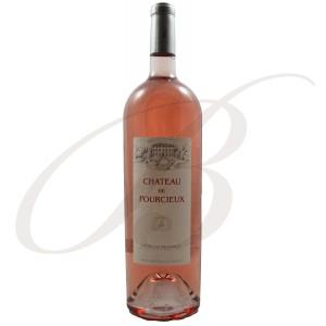 Magnum Château de Pourcieux, Côtes de Provence, 2015  150cl - Vin Rosé