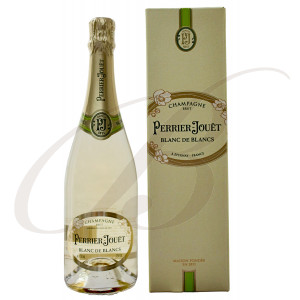 Blanc de Blancs, Perrier-Jouët, Brut, Champagne in a gift box