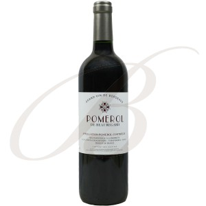 Pomerol de Beauregard (Bordeaux), 2011 - Vin Rouge