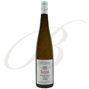 Riesling Geisberg, Grand Cru, Vendanges Tardives, Robert Faller et Fils (Alsace), 2007 - Vin Blanc