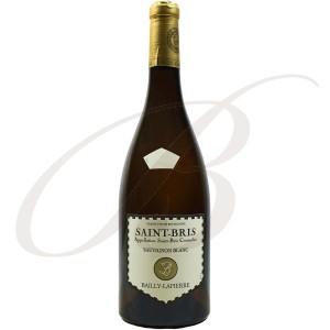 Sauvignon Saint-Bris, Bailly-Lapierre (Bourgogne), 2015 - Vin Blanc