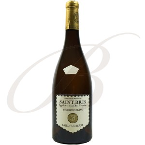 Sauvignon Saint-Bris, Bailly-Lapierre (Bourgogne), 2016 - Vin Blanc