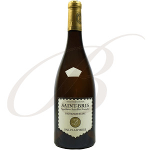 Saint-Bris, Sauvignon, Bailly-Lapierre (Bourgogne), 2017 - Vin Blanc