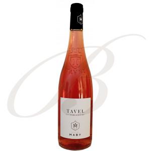 Tavel Rosé, La Forcadière, Domaine Maby (Vallée du Rhône), 2018 - Vin Rosé