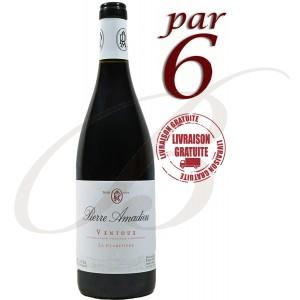 Ventoux, La Claretière, Pierre Amadieu, 2016 Par 6 bouteilles- Vin Rouge