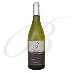 Viognier, Expression, Domaine Saint-Hilaire, Vin de Pays d'Oc, 2018 - Vin Blanc