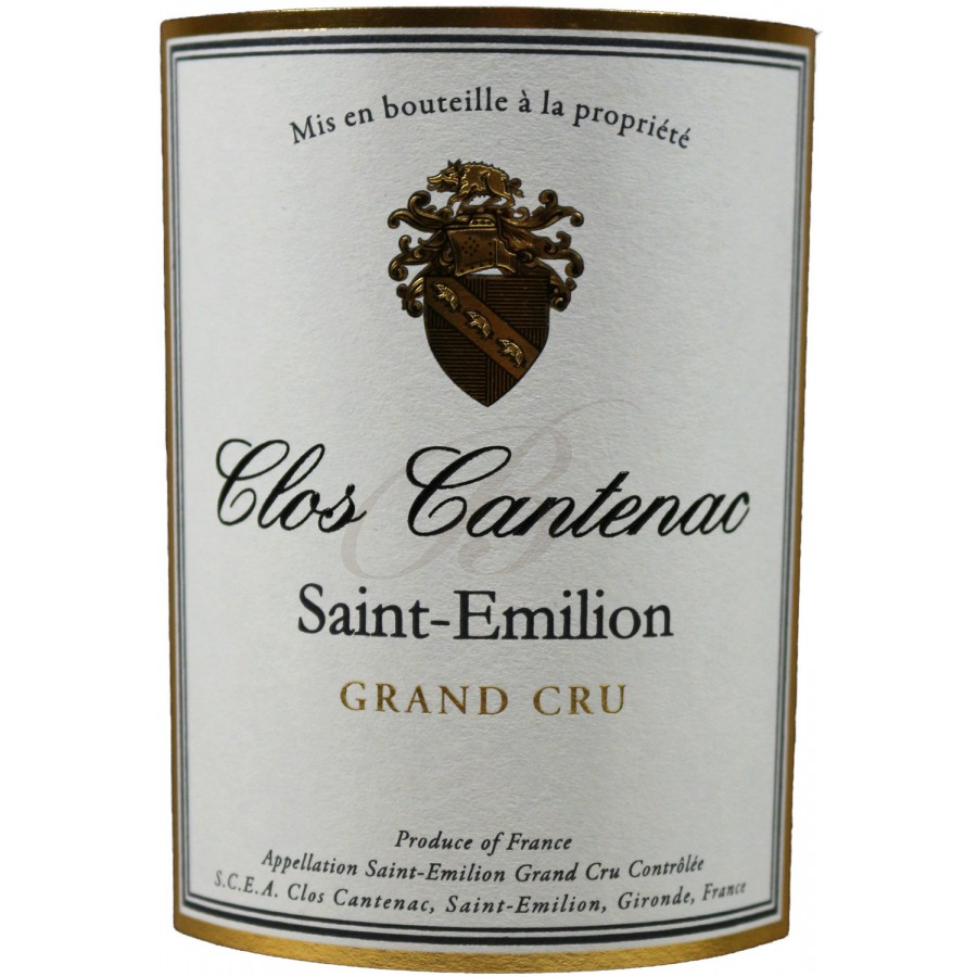clos cantenac grand cru saint emilion 2012 boursot en. Black Bedroom Furniture Sets. Home Design Ideas