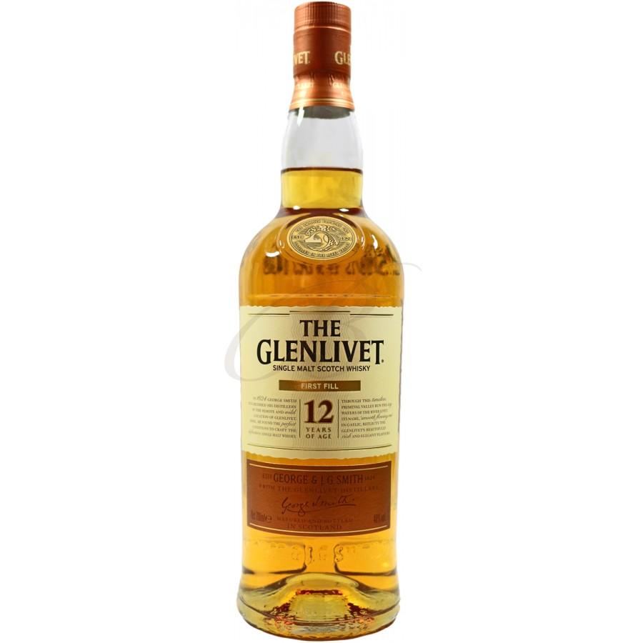 Scotch Whisky The Glenlivet, 12 Ans D'age