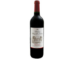Ch teau Chapelle Labory  Fronsac  Bordeaux   2016 Vin Rouge click to enlarge click to enlarge