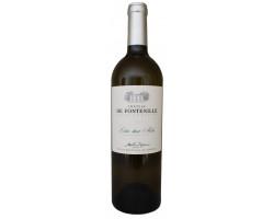 Ch teau de Fontenille  Entre Deux Mers  Bordeaux   2018 Vin Blanc click to enlarge click to enlarge