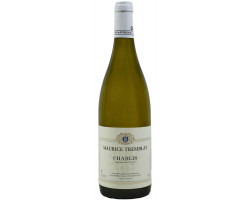 Chablis  Maurice Tremblay  2018 Vin Blanc click to enlarge click to enlarge