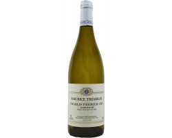 Chablis Premier Cru  La Fourchaume  Maurice Tremblay  2018 Vin Blanc click to enlarge click to enlarge