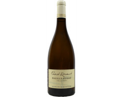 Pouilly Fuiss   Vieilles Vignes Domaine Pascal   Mireille Renaud  Burgundy   2018 Vin Blanc click to enlarge click to enlarge